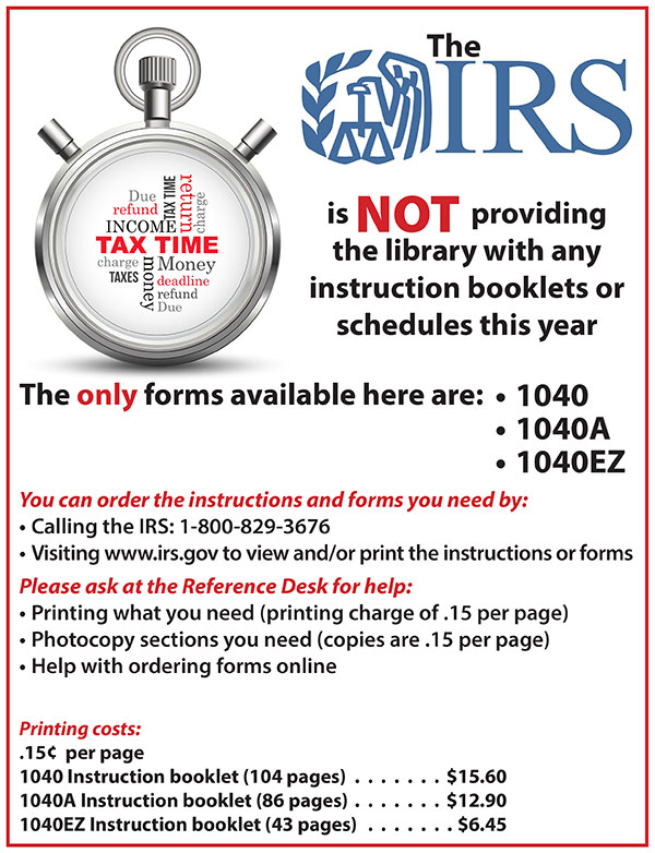 Important 2014 Tax Information Stratford Library Association