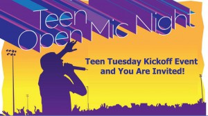 Teen Tuesday Kickoff for blog