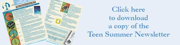 teen-summer-newsleter-banner