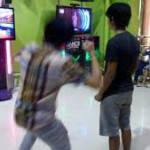 teens playing wii