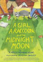 book a girl a raccoon and the midnight moon