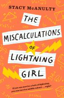book miscalculations of lightning girl