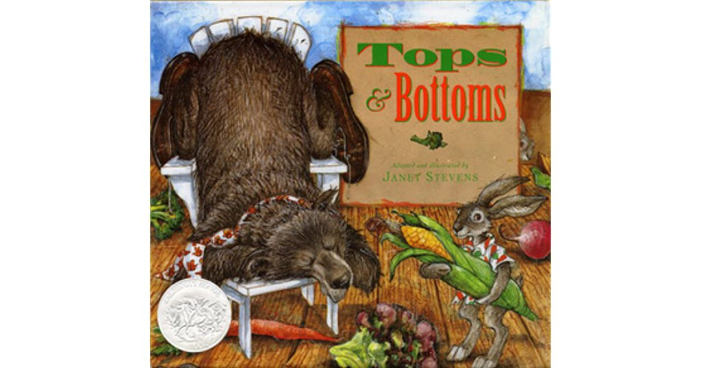 book tops and bottoms